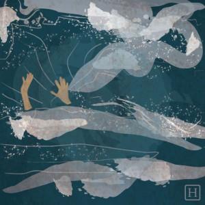 """""""Se siente como si estuviera atrapado en un Tsunami; el balanceo de las olas no permite averiguar en qué dirección nadar"""" — Larissa Valkyrie (vía Facebook)"""