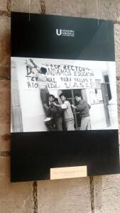 """""""Estudiantes de las Unidades Académicas de Ciudad Valles y Rioverde, en demanda de una educación terminal en sus campus, 1989""""."""