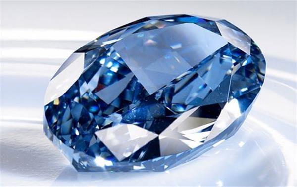 Diamante azul será rematado hasta en 55 mdd